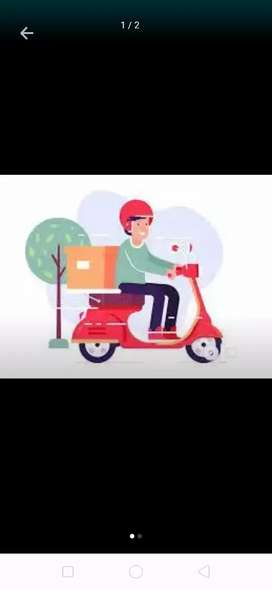 Delivery executives- two wheeler and license must