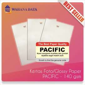 Kertas Foto Glossy Photo Paper A4 140 Gsm Pacific Premium - Isi 20