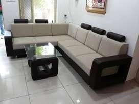New full covered sofa