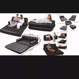 5 in 1 air sofa with pump