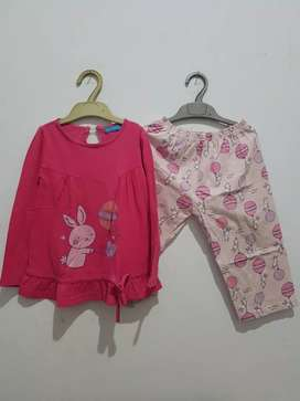 Baju tidur anak Barbie uk 4 th nett