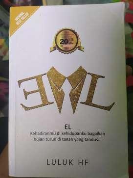 Buku Novel EL Karya Luluk HF
