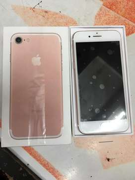 Imported iphone 7 with all accessories and 6 months seller warranty