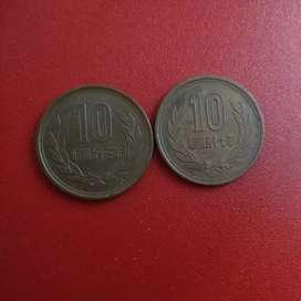 Koin 10 yen Jepang