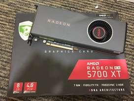 MSI Radeon RX 5700 XT (Jual Rugi) VGA 7jt harga 5jt an