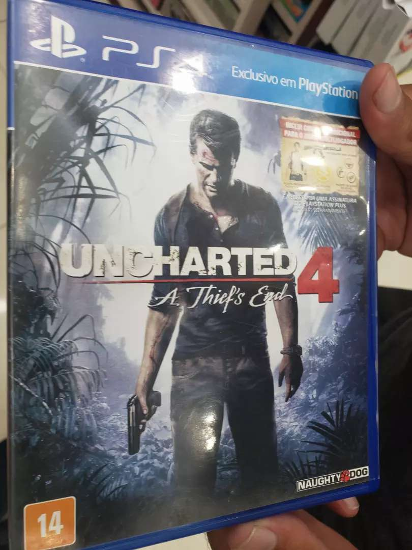 Ps4 uncharted 4 0