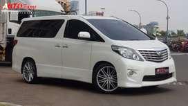 Toyota Alphard S Full Option Velg R18 Japan Spec 2010 TInggal Pakai!!!