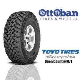 Ban Toyo open country MT Ukuran 33x12,5R20 bisa untuk Pajero Navara