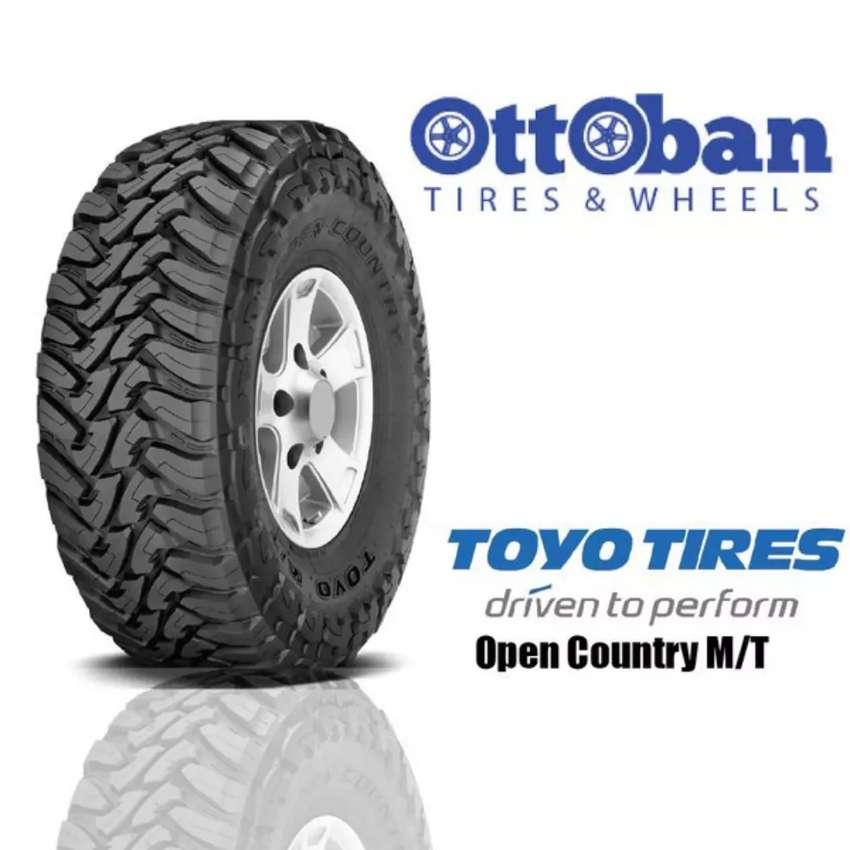 Ban Toyo open country MT Ukuran 33x12,5R20 bisa untuk Pajero Navara 0