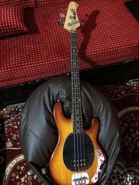 Musicman bass guitar