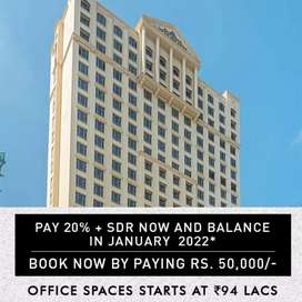 OFFICE SPACES START AT RS. 95 LACS !!