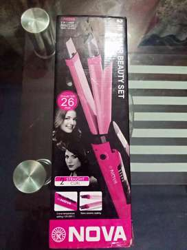 Hair Straightener Nova Company Available For Sale