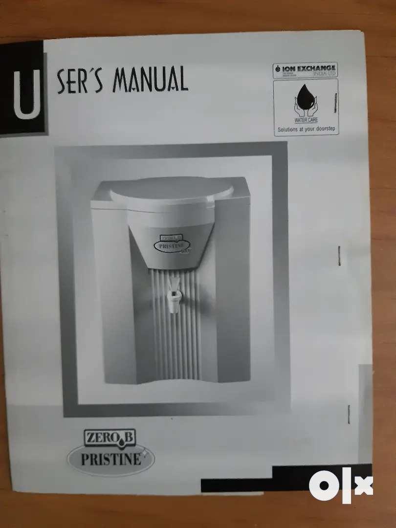 Zero - B PRISTINE RO Water Purifier