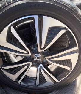 Velg & Ban 17 Asli Honda Civic Turbo Thailand hrv brv innova accord