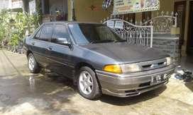 Jual mobil Ford Laser Champ Tahun 1993 body mulus