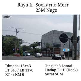 Ruko Office Building Raya Merr Kertajaya 3 Lantai Klampis Galaxy mall