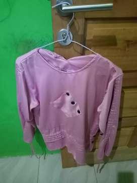 Blouse Wanita Warna Pink