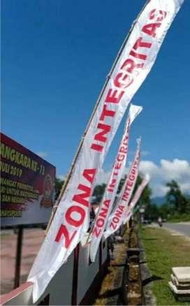 Umbul Umbul Spanduk T Banner MMT Termurah Kaca film di Kota Solo