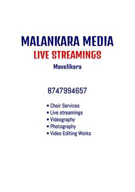 Live streams, Editing and Choir services