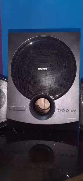 SONY SA-D40 4.1 Multimedia speakers