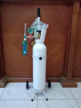 Tabung oksigen 1m3 dan isi