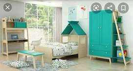 Dijual bed set anak merk informa (blm 1thn)