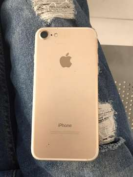 Iphone 7, 128gb,gold colour