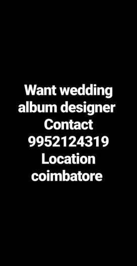 Album designer want