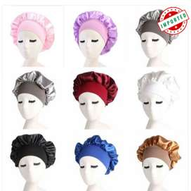 Silk Night Sleep Cap Hair Bonnet Hat Head Cover
