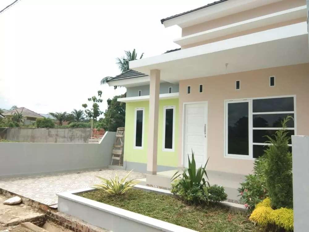 rumah cantik murah tanah luas