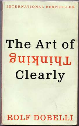 Buku Impor Inggris: The Art of Thinking Clearly