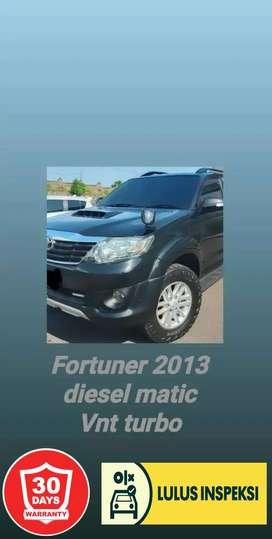 [Lulus Inspeksi] Fortuner diesel type G TRDS 2013 VNT TURBO