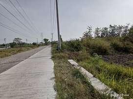 Tanah pekarangan zona merah atau zona industri di ceper Klaten
