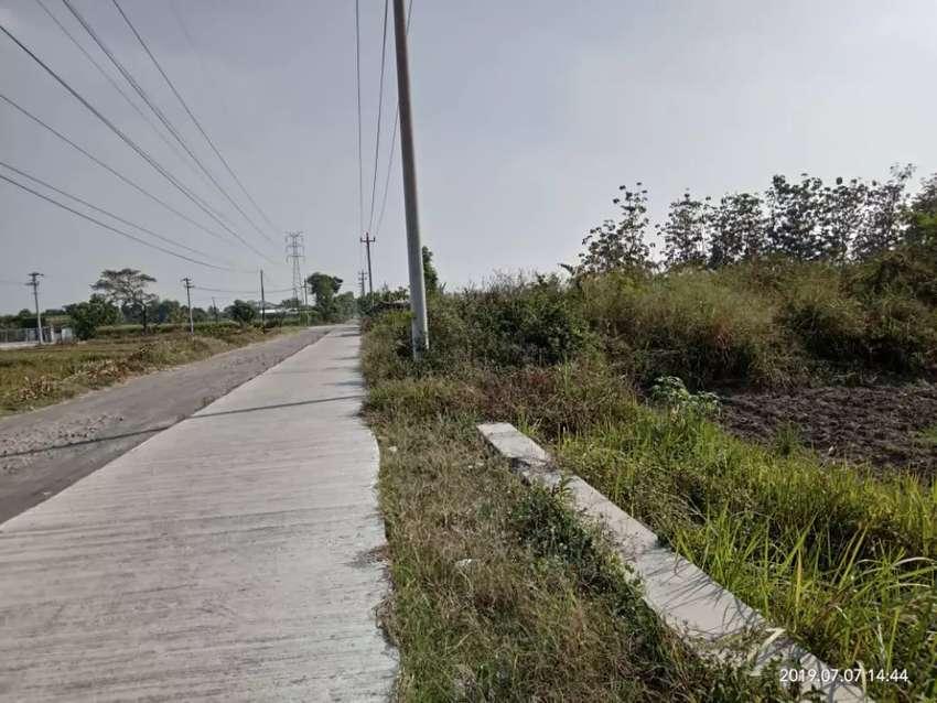 Tanah pekarangan zona merah atau zona industri di ceper Klaten 0