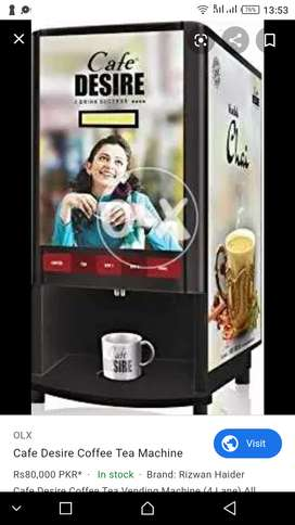 Coffee and tea machine 4-4