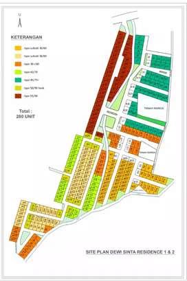 Jual rumah subsidi tipe 36/60 dekat jln karangmojo Wonosari