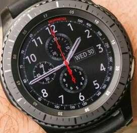 Samsung Gear S3 Frontier Digital Smart watch
