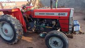 MF 240 for sale. tractor is a good condition.
