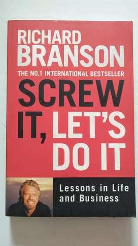 Di Jual Buku Richard Branson SCREW IT, LET'S DO IT Original