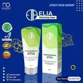 Elia cleansing Foam Sabun pembersih Wajah HERBAL Alami Skincare KOREA