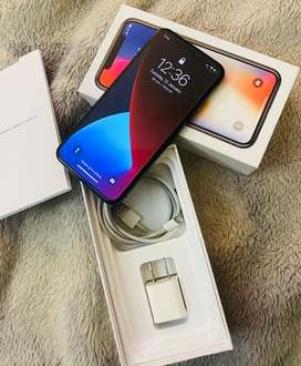 iPhone X 64 GB Space Grey PTA Approved.
