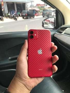 iPhone 11 64 GB Red Fullset