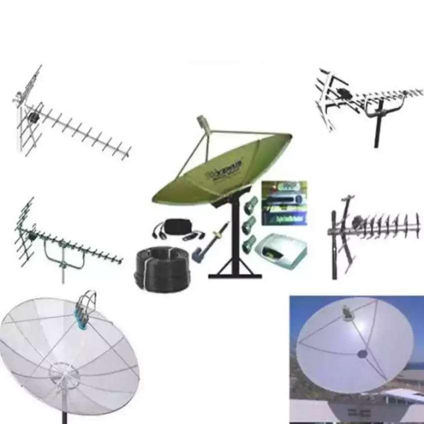 Pasang Antena TV, Parabola Bebas Iuran 0