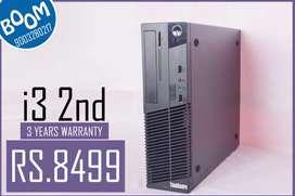 Lenovo CPU i3 CPU ( 2nd gen ) - 3 Years Warranty - Free Delivery Serv