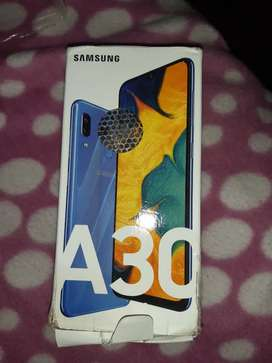 Samsung A30 Skyblue colour 4gb 64gb with fingerprint or facelock