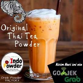 bubuk minuman rasa thai tea dan green tea indopowder booster