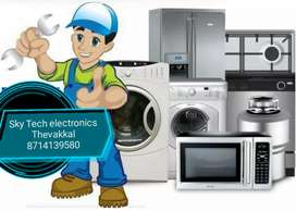 tv,Fridge, Mico wave oven, washing machine repair on your door step