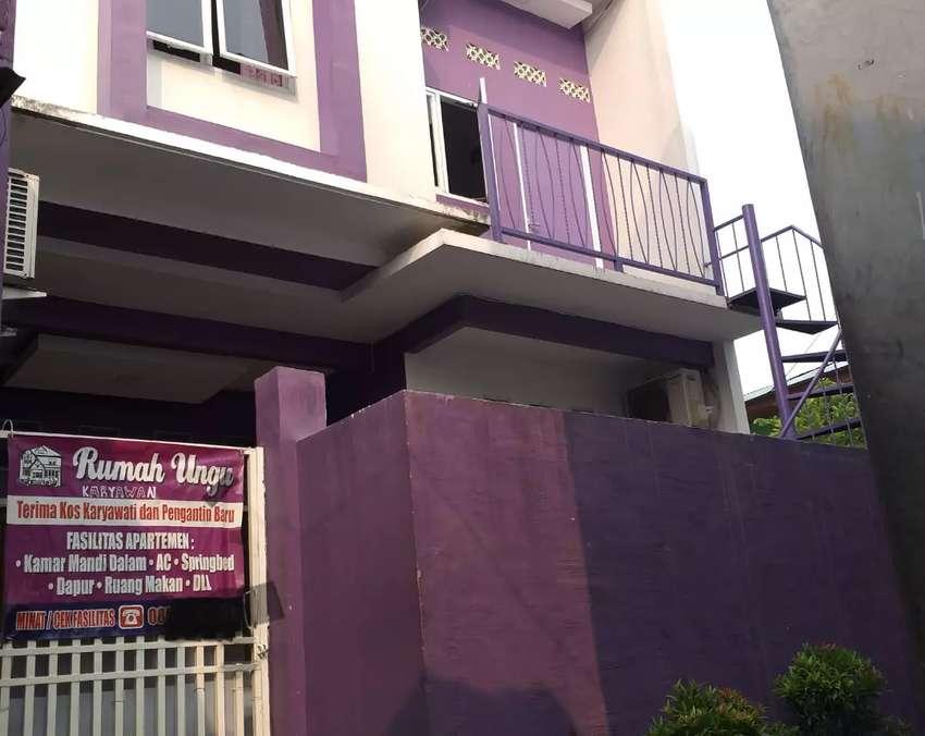 Kos rumah ungu Sewa kamar kos kosan 0