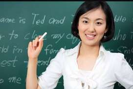 require a Tuition teacher, tutor, male, female.
