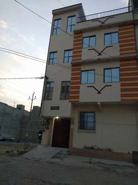 Saadi Town 84Sq Building Ground + 3 Good Condition Near Main Road
